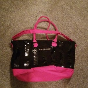 Victoria's Secret Weekender Tote Bag Luggage